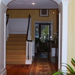 Pitfour House bed and breakfast hallway