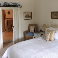 Pitfour House bed and breakfast guest bedroom