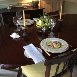 Pitfour House bed and breakfast guest breakfast