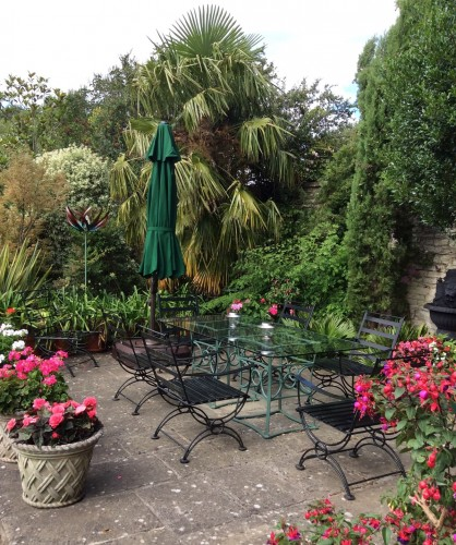 Pitfour House bed and breakfast garden