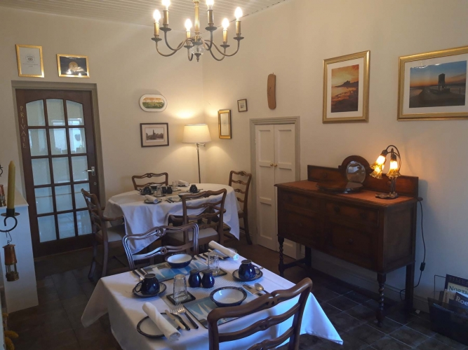 Post Office House Bed and Breakfast Dining Room