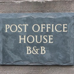Post Office House Bed and Breakfast sign