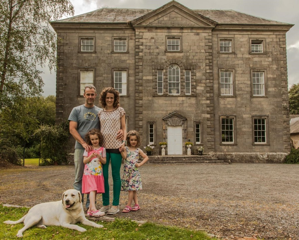 Roundwood House bed and breakfast house and family