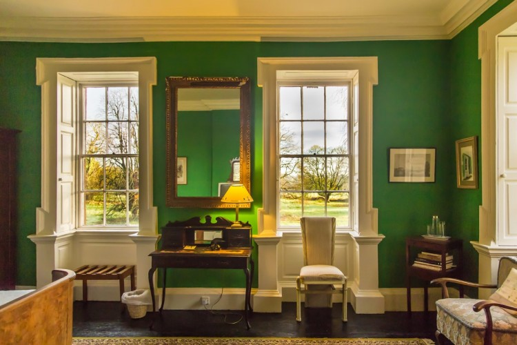 Roundwood House bed and breakfast writing room