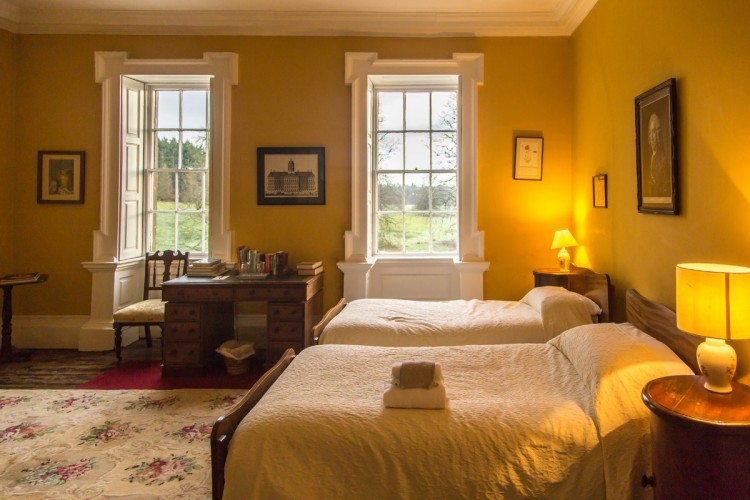 Roundwood House bed and breakfast bedroom