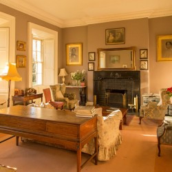 Roundwood House bed and breakfast guest sitting room