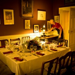 Roundwood House bed and breakfast dining room
