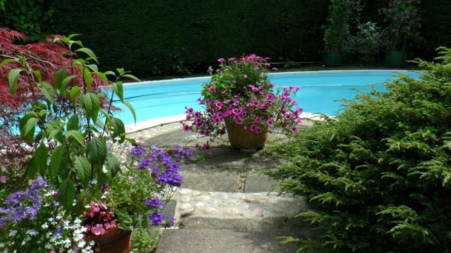 Spindrift Jordans b&b swimming pool