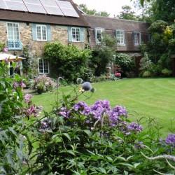 Spindrift Jordans b&b garden