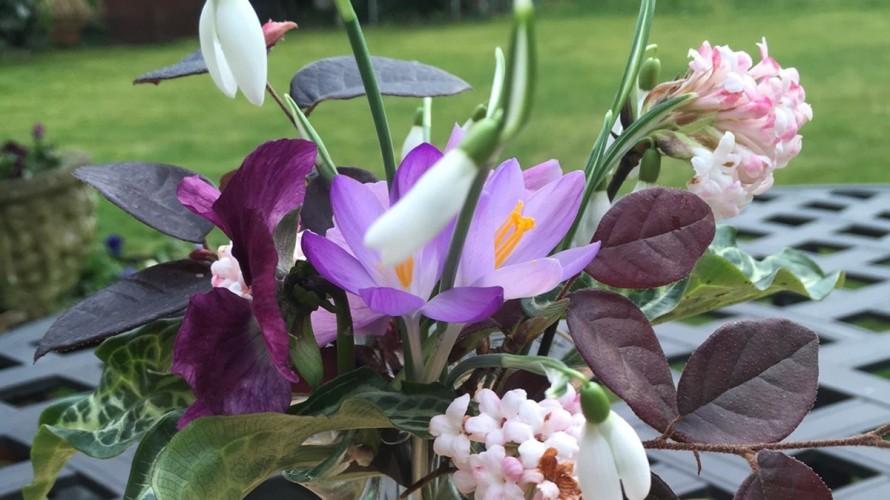Spindrift Jordans b&b flowers