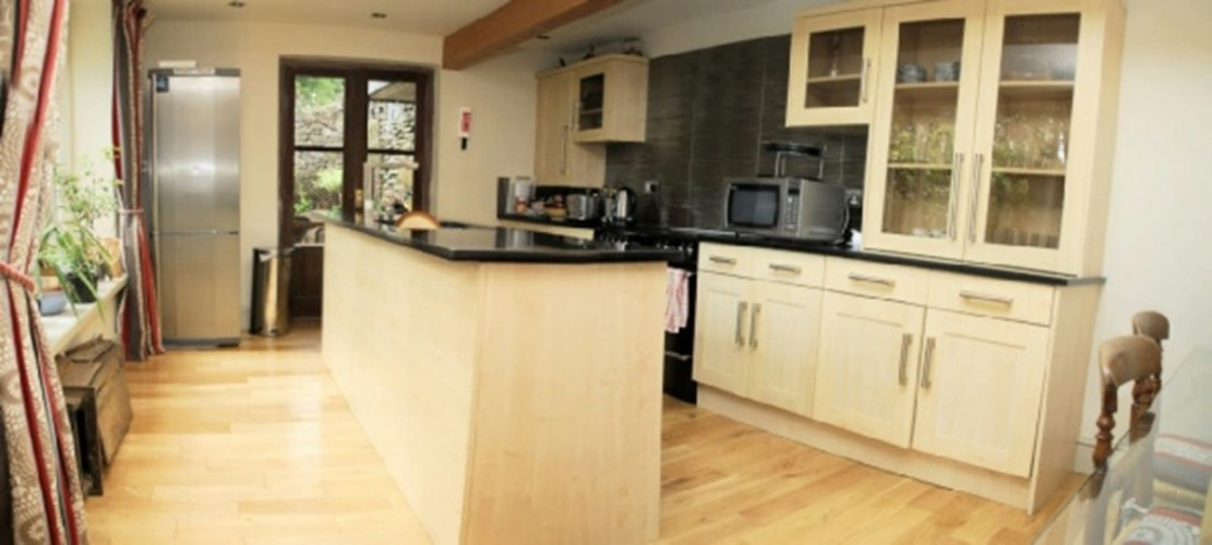The Stable Annexe self catering at St Marys Mount kitchen