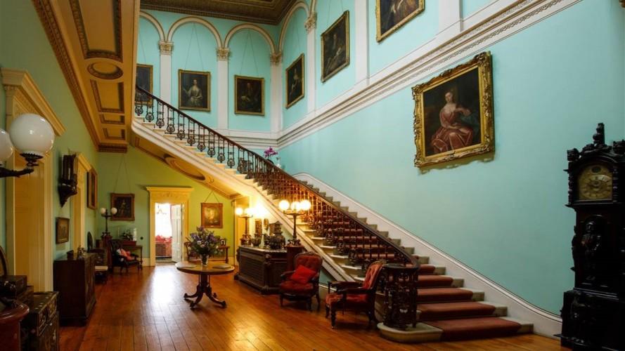 Temple House hallway