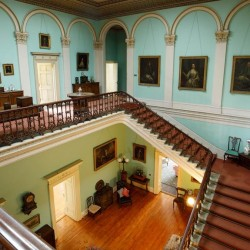 Temple House Elegant Hallway