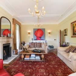 The Old Rectory Bed and Breakfast Sitting Room
