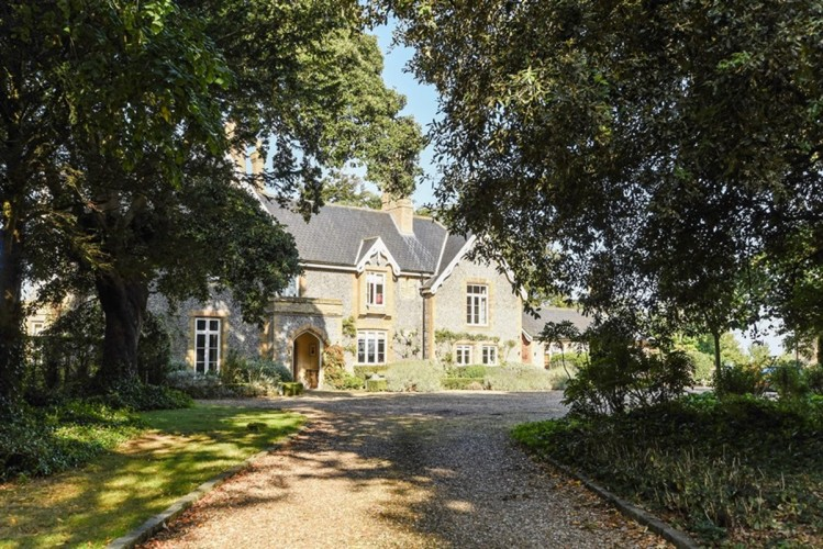 The Old Rectory bed and breakfast exterior