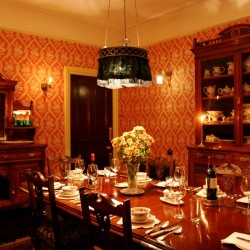 The Old Vicarage Powys bed and breakfast dining room