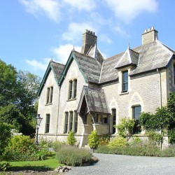 The Old Vicarage Powys bed and breakfast exterior