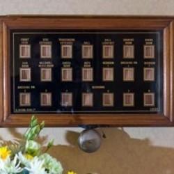 Thornton Lodge Bell Pull Panel