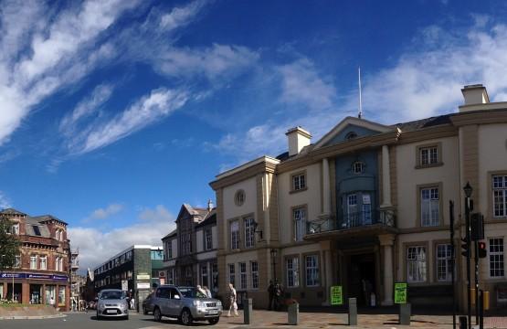 Ulverston town