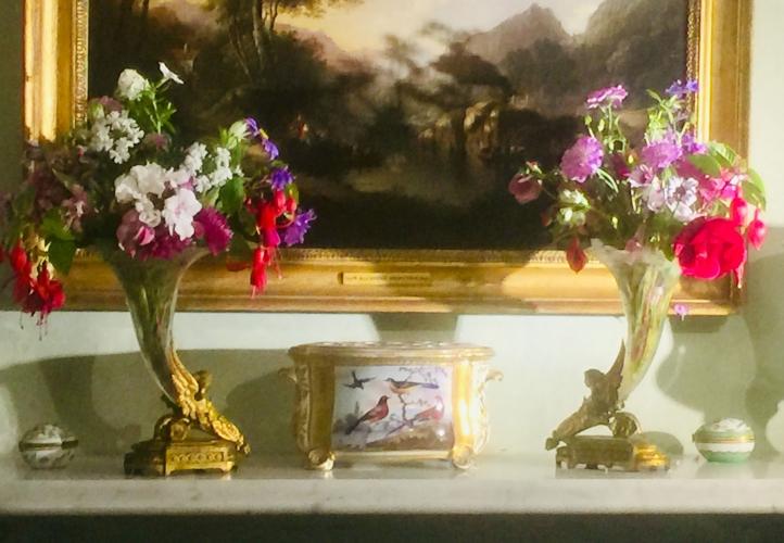Uplands House B&B flowers