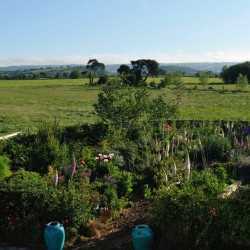 Upper Crannel Farm Barn self catering Garden