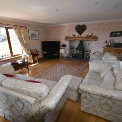 West Barmoffity Farm Sitting Room