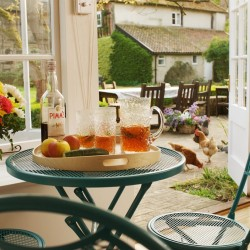 West Stow Pimms on table