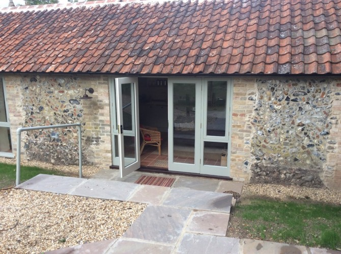 West Stow Hall self catering Orchard & Garden Cottage