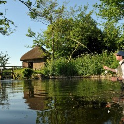 Fishing at Wrackleford House