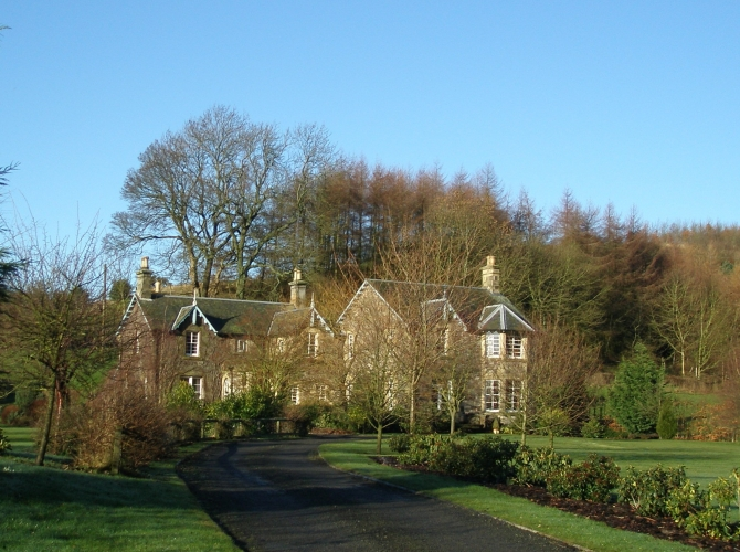 Woodmill House, Lindores