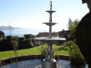 Greenhill House fountain