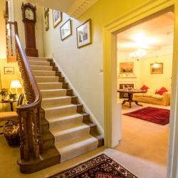 Holbecks House Hadleigh B&B stairway