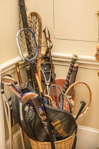 The Old Rectory, Ludlow tennis rackets