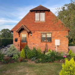 Barclay Cottage front door