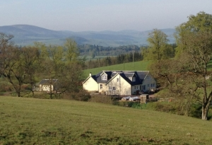 Braefield B and B near Biggar