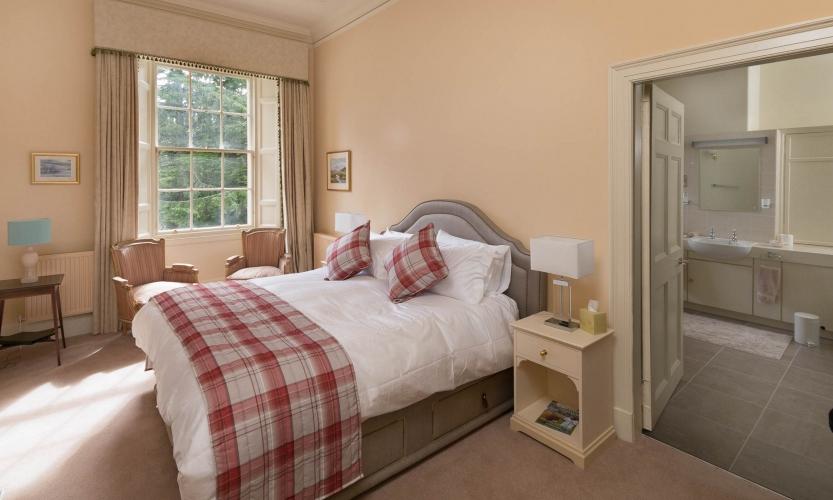 Deluxe Bedroom at Blervie House