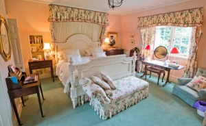 a bedroom at the Dean B&B