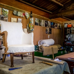 Huntlands Farm upholstery 2