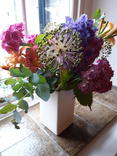 Post Office House Bed and Breakfast flowers