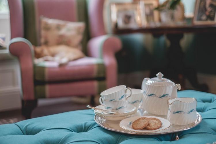 Breedon Hall Bed and Breakfast Tea set