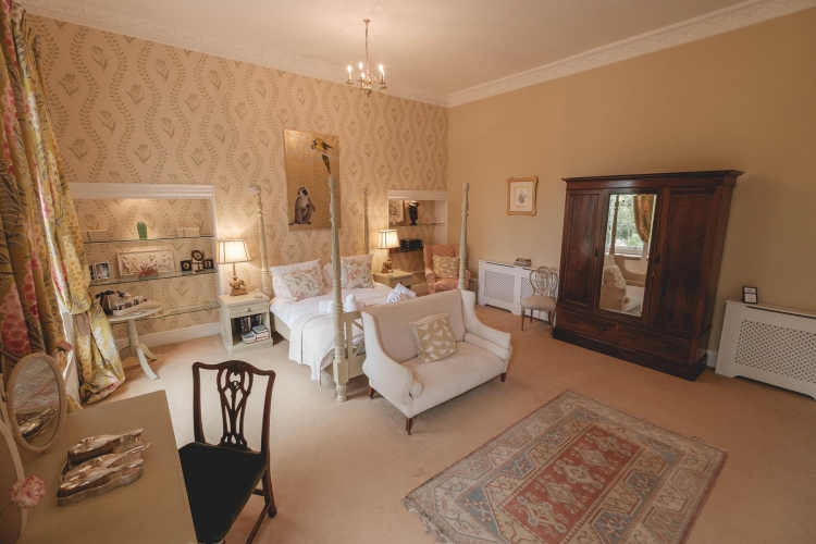 Breedon Hall Bed and Breakfast Bedroom
