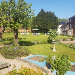 Breedon hall garden