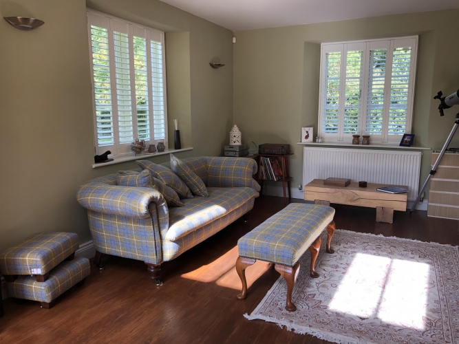 Holywell Lodge sitting room
