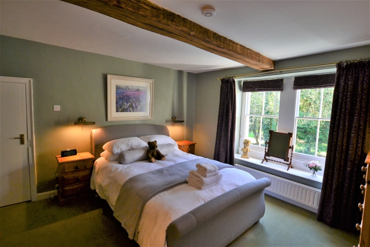Derwent House self-catering Bedroom