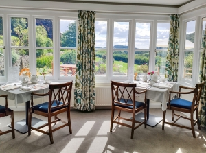 Eastwrey Barton breakfast room