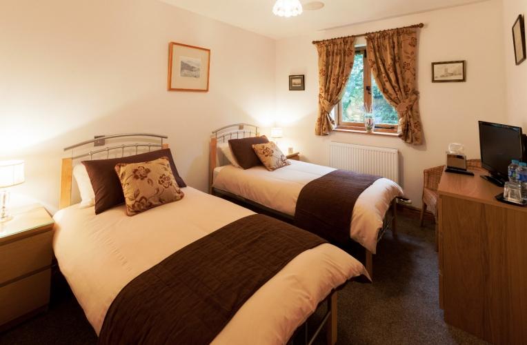 Heads Nook Hall Cottage bedroom
