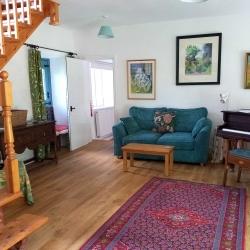 Johnby Hall Studio sitting room