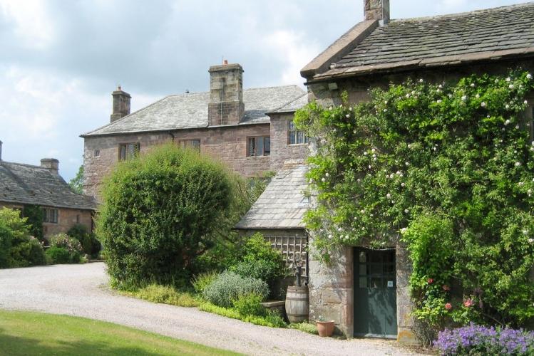 Johnby Hall studio-and-house