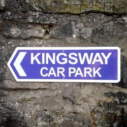 Kingsway Guest House Edinburgh car park