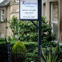 Kingsway Guest House B&B - sign